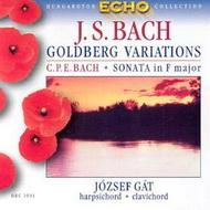 Bach, Johann Sebastian: Goldberg variációk / Bach, Carl Philipp Emanuel: F-dúr szonáta (2. változat)