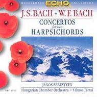 J. S. Bach - W. F. Bach: Versenyművek két csembalóra