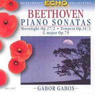 Beethoven, Ludwig van: Zongoraszonáták Op. 27/2, Op. 31/2, Op. 79