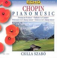 Chopin, Fryderyk: Zongoraművek