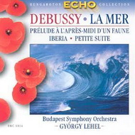 Debussy, Claude: A tenger / Egy faun délutánja / Iberia / Kis szvit