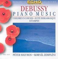 Debussy, Claude: Zongoraművek