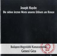 Haydn, Joseph: A Megváltó hét utolsó szava a keresztfán Hob. III:50-56