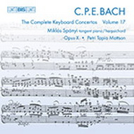 Bach, C.P.E.: The Complete Keyboard Concertos, Vol. 17