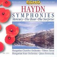 Haydn, Joseph: Szimfóniák - Merkur / Medve / Üstdob