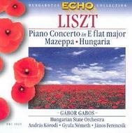 Liszt Ferenc: Esz-dúr zongoraverseny / Mazeppa / Hungaria