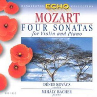 Mozart, Wolfgang Amadeus: Hegedű és zongora szonáták