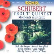 Schubert, Franz: Pisztráng-ötös/Moments Musicaux