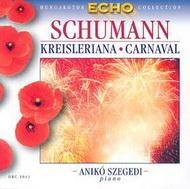 Schumann, Robert: Kreisleriana-fantáziák Op. 16/ Karnevál - apró jelenetek négy hangra Op. 9