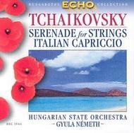 Csajkovszkij, Pjotr Iljics: Vonósszerenád Op. 48/ Olasz capriccio Op. 45