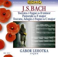 Bach, J.S.: d-moll toccata és fúga/ F-dúr Pastorale/ F-dúr toccata és fúga/ C-dúr toccata, adagio és fúga/ c-moll passacaglia és fúga