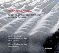 Cerha, Friedrich: Konzert für Schlagzeug und Orchester; Impulse für Orchester