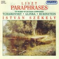 Liszt Ferenc: Parafrázisok orosz szerzők műveire
