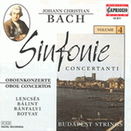 Bach, J. Ch.: Sinfonie Concertanti, Vol. 4