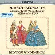Mozart, Wolfgang Amadeus: Szerenádok K. 388, K. 375