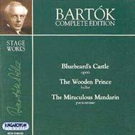 Bartók összkiadás - Színpadi művek: A kékszakállú herceg vára; A csodálatos mandarin; A fából faragott királyfi