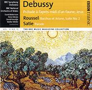 Debussy, Claude: Prélude ŕ l'aprčs-midi d'un faune; Jeux; Roussel, Albert: Bacchus et Ariane, Suite No.2; Satie, Erik: Parade