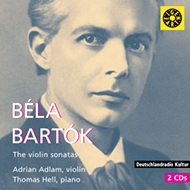 Bartók Béla: The Violin Sonatas