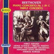 Beethoven: I. (C-dúr) zongoraverseny Op. 15, Hármasverseny Op. 56