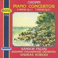 Chopin, Fryderyk: I. (e-moll) zongoraverseny Op. 11, II. (f-moll) zongoraverseny Op. 21