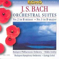 Bach, J.S.: Zenekari szvitek Nos. 2-3, BWV 1067-68