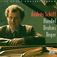 Works of Reger, Brahms and Händel