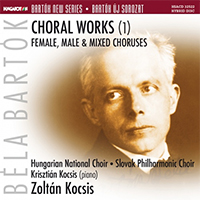 Bartók Új Sorozat: Kórusművek (1) - Női, férfi- és vegyeskórusok