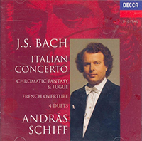 Bach, J.S.: Italian Concerto/Four Duets/French Overture