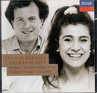 Bartoli/Schiff: Italian Songs