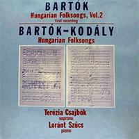 Bartók Béla & Kodály Zoltán: Hungarian Folksongs