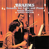 Brahms, Johannes: Sonatas for Cello and Piano