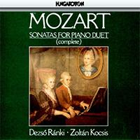 Mozart, Wolfgang Amadeus: Sonatas for Piano Duet