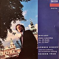 Mozart, Wolfgang Amadeus: Piano Concertos Nos. 21 & 20