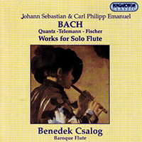 Bach, J. S.: Works for Solo Flute