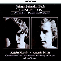 Bach, J.S.: Concertos for One and Two Pianos and Orchestra