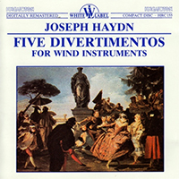 Haydn, Joseph: Five Divertimentos for Wind Instruments