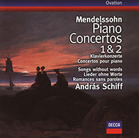 Mendelssohn-Bartholdy, Felix: Piano Concertos Nos.1 & 2/Songs without words
