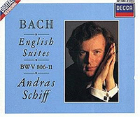 Bach: The English Suites; Suites Nos.1 - 6