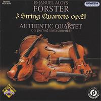 Förster, Emanuel Aloys:3 String Quartets Op.21