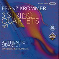 Krommer, Franz: 3 String Quartets, Op.7