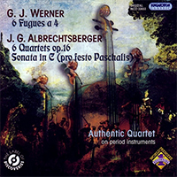 6 Fugues a 4 - 6 Quarttets Op.16 - Sonata in C (pro festo Paschalis)