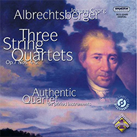 Johann Georg Albrechtsberger: Three String Quartets Op.7 Nos. 4-6.