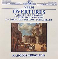 Verdi, Giuseppe: Overtures