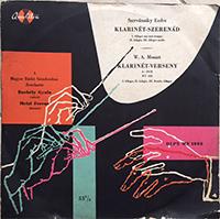 Mozart, W.A.: Klarinét-szerenád - Klarinét-verseny