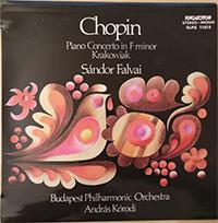 Chopin, Fryderik: Piano Concerto in f minor