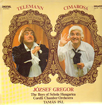 Telemann - Cimarosa: Der Schulmeister