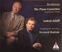 Beethoven, Ludwig van: Piano Concertos 1-5, Sonata No 23 in F minor Op 57