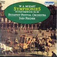 Mozart, W. A.: Esz-dúr szimfóniák (K.543/K.132/K.184)