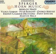 Sperger, Johannes M.: Horn Music