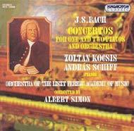 Bach, J. S.: Concertók 1 és 2 zongorára - I. album